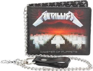 Metallica Master Of Puppets Wallet with Chain