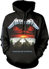 Metallica Master Of Puppets Tracks Hooded Sweatshirt Black