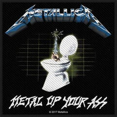Metallica Metal Up Your Ass Sew-On Patch