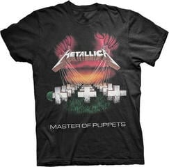 Metallica Mop European Tour 86' T-Shirt Black