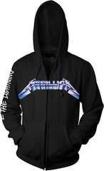 Metallica Ride The Lightning Hooded Sweatshirt with Zip Black
