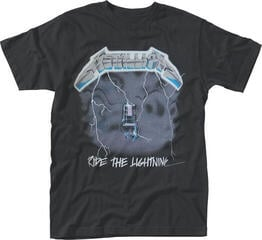 Metallica Ride The Lightning T-Shirt Black