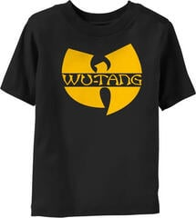Wu-Tang Clan Logo Kids T-Shirt Black