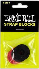 Ernie Ball 4603 Strap Blocks Black and Red