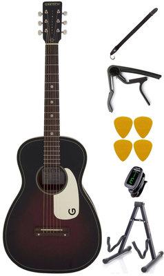 Gretsch G9500 Jim Dandy Flat Top WN 2-Color Sunburst Deluxe SET