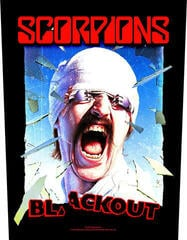 Scorpions Blackout Backpatch