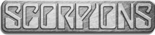 Scorpions Logo Metal Pin Badge