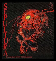 Sepultura Beneath The Remains Sew-On Patch