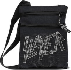 Slayer Distorted Record Crossbody