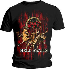 Slayer Hell Awaits T-Shirt Black