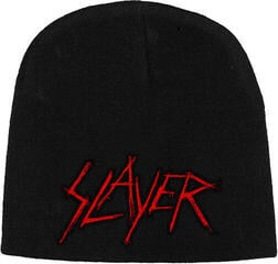 Slayer Scratched Logo (Embroidered) Knitted Ski Hat