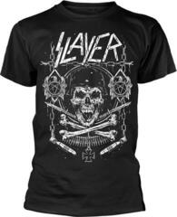 Slayer Skull & Bones Revised T-Shirt Black