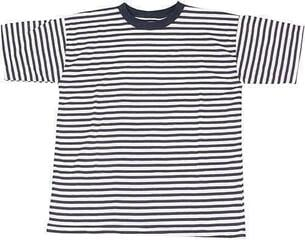 Sailor Junior's Breton T-shirt White/Blue