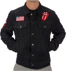 The Rolling Stones Zip Code 2015 Mens Denim Jacket XL