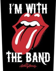 The Rolling Stones I'm With The Band Backpatch