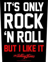 The Rolling Stones It's Only Rock 'N' Roll Backpatch