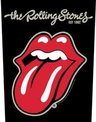 The Rolling Stones Plastered Tongue Backpatch