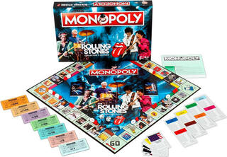 The Rolling Stones Monopoly Board Game Puzzle