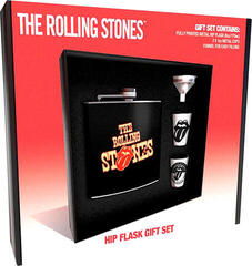 The Rolling Stones Tongue Hip Flask Set