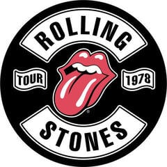 The Rolling Stones Tour 1978 Backpatch