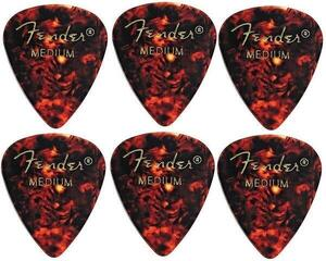 Fender 351 Shape Classic Tortoise Shell Medium 6 Pack