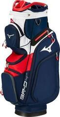 Mizuno BR-D4 Cart Bag Navy/Red 2020