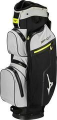 Mizuno BR-DRI Waterproof Cart Bag Black/Grey/Lime 2020
