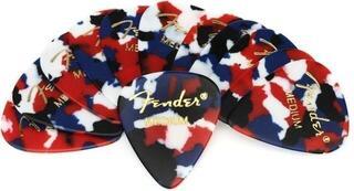 Fender 351 Shape Premium Picks Confetti Medium 12 Pack