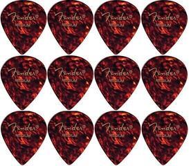 Fender 551 Shape Classic Celluloid Picks Shell Medium 12 Pack