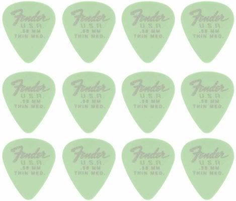 Fender 351 Dura-Tone .58 Surf Green 12 Pack