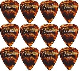 Fender 351 Shape Classic Tortoise Shell Thin 12 Pack