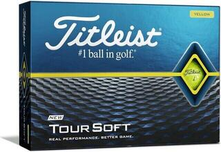 Titleist Tour Soft Golf Balls Yellow 2020