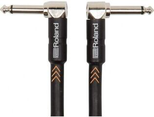 Roland RIC Patch Cable Black/Angled - Angled