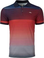 Kjus Spot Printed Mens Polo Shirt 2020 Steel Grey