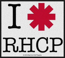 Red Hot Chili Peppers I Love Rhcp Sew-On Patch