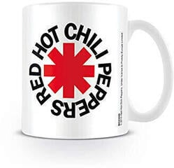 Red Hot Chili Peppers Logo White Mug