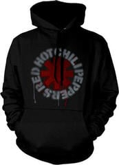 Red Hot Chili Peppers Stencil Asterisk Hooded Sweatshirt Black