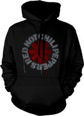 Red Hot Chili Peppers Stencil Asterisk Hooded Sweatshirt M