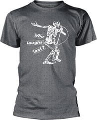 Rage Against The Machine Who Laughs Last T-Shirt Grey
