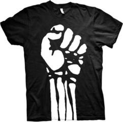 Rage Against The Machine Large Fist (Jumbo Print) T-Shirt Black