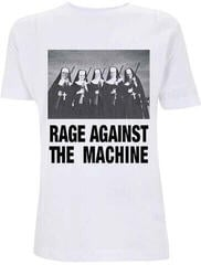 Rage Against The Machine Nuns And Guns T-Shirt White
