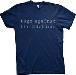 Rage Against The Machine Original Logo Modrá