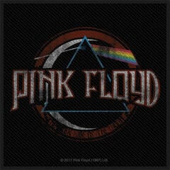 Pink Floyd Distressed Dark Side Of The Moon Sew-On Patch