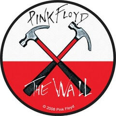 Pink Floyd Hammers Sew-On Patch