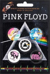 Pink Floyd Prism Button Badge Set
