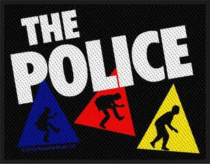 The Police Triangles Sew-On Patch