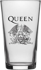 Queen Crest Beer Glass Pahare de bere