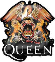 Queen Crest Metal Pin Badge