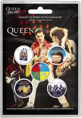 Queen Later Albums Button Badge Set