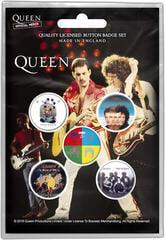 Queen Later Albums Button Badge Set